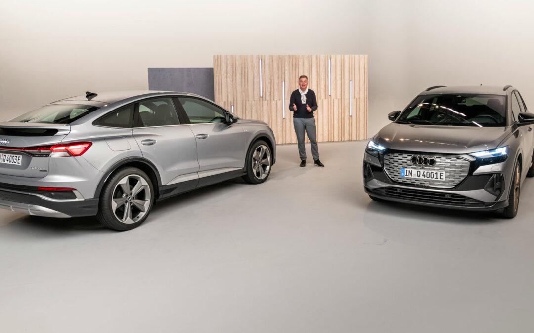 Audi Q4 e-tron: Ab August auch als Sportback