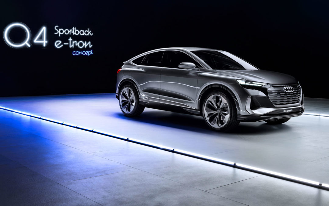 Audi Q4 e-tron Sportback: Zurück zu den Wurzeln