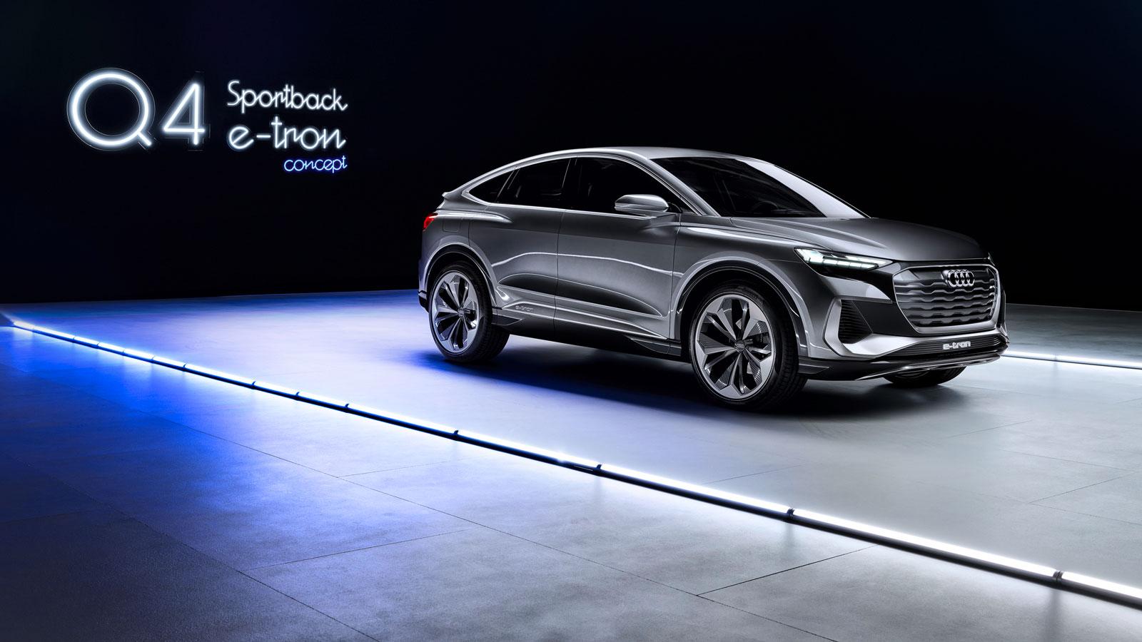 Audi Q4 e-tron Sportback: Zurück zu den Wurzeln - Edison - Heimat der Generation E