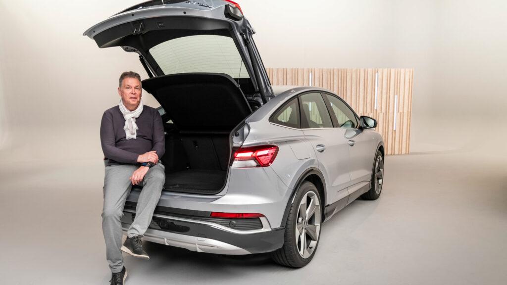 Kofferraum des Audi Q4 e-tron