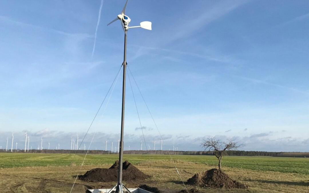 Energieautark mit einem Mini-Kraftwerk im Garten