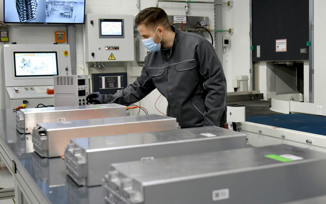 Batterie-Recycling: VW lässt Pilotanlage hochlaufen