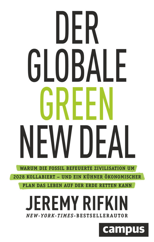 Buch-Cover - Jeremy Rifkin: Der globale Green New Deal Rifkin