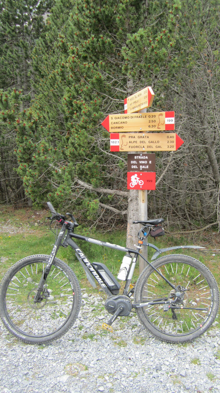 Transalp mit dem E-Bike