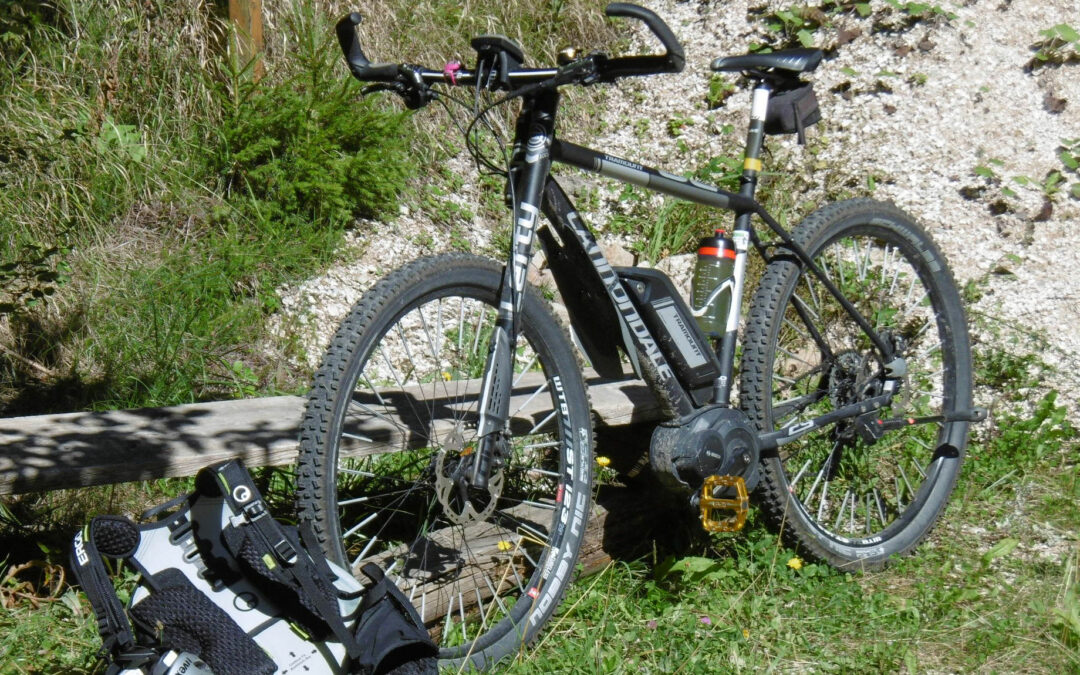 Transalp mit dem E-Bike in sieben Etappen