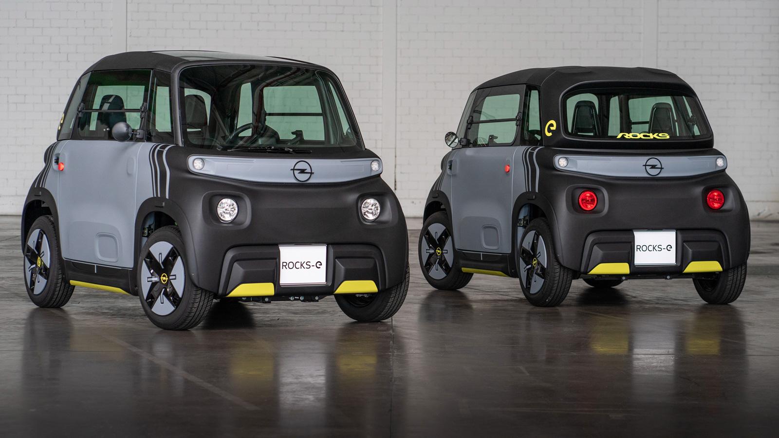 E-Mobilität Opel Rocks-e: Die Alternative zu Bus und Bike