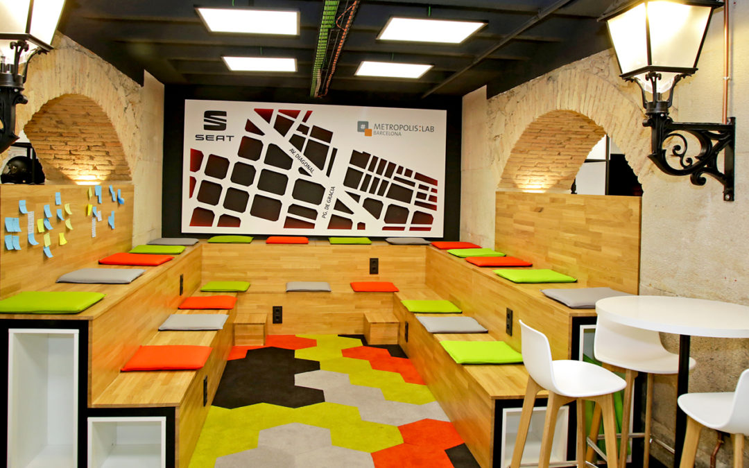 """Metropolis"": Seat arbeitet an der Smart City"