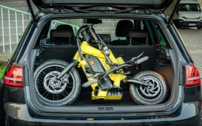 Erster klappbarer E-Scooter mit Allrad-Lenkung