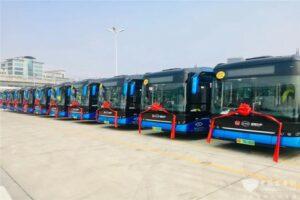 Reisebusse von BYD