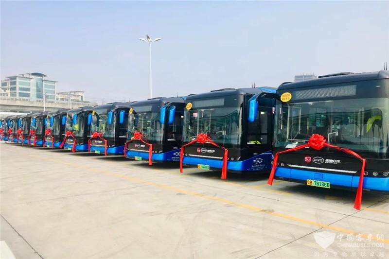 Elektrobusse von BYD elektrisieren die Welt