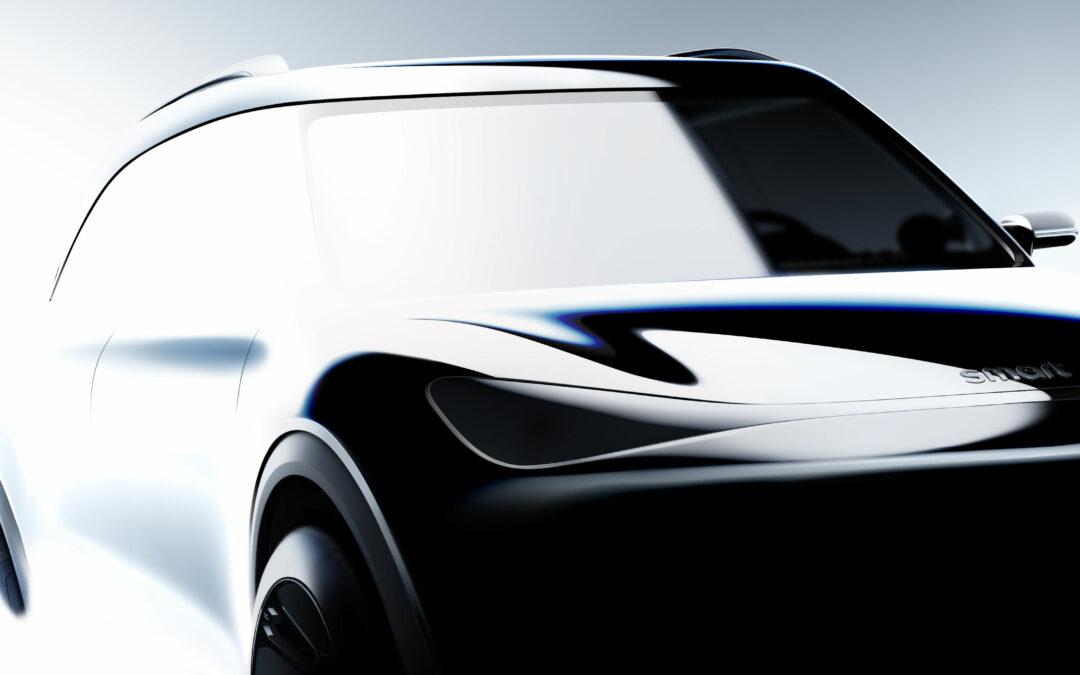 Schluss mit niedlich: Neuer Smart wird ein Elektro-SUV