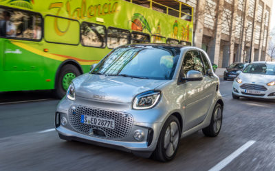 Smart EQ: Neues Gewand und voll elektrisch