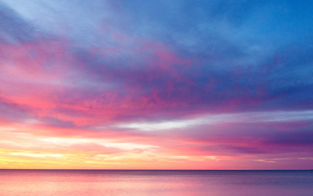Sonnenuntergang auf Knopfdruck