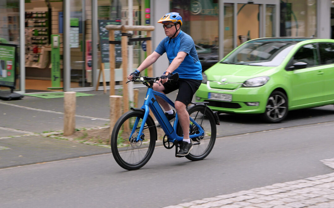 Stromer ST2: Mit dem E-Bike mal flott ins Büro