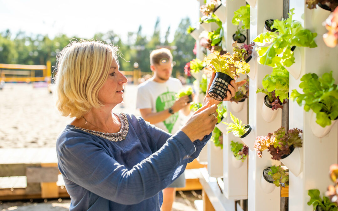 Duschwasser-Salat ist gesund und lecker
