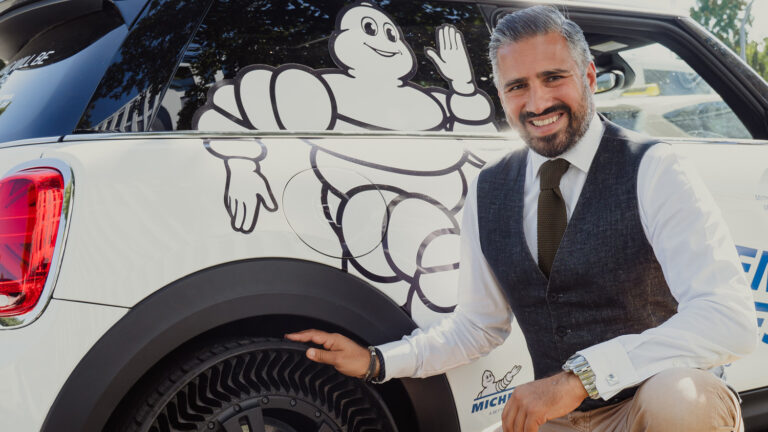 """Michelin Uptis: """"Dieser Reifen wird die Industrie verändern"""""""