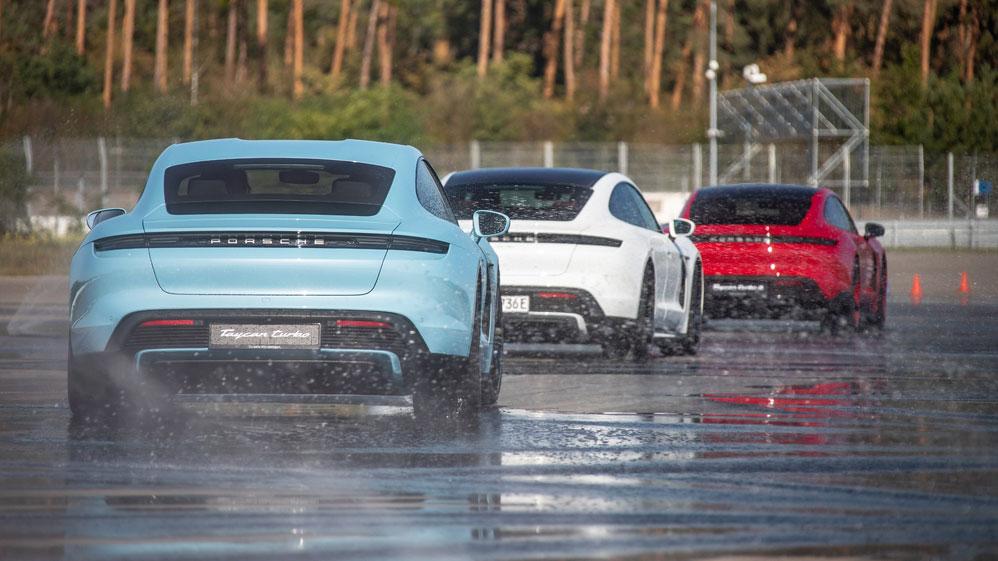 Porsche Taycan: Neues Basismodell in Sicht