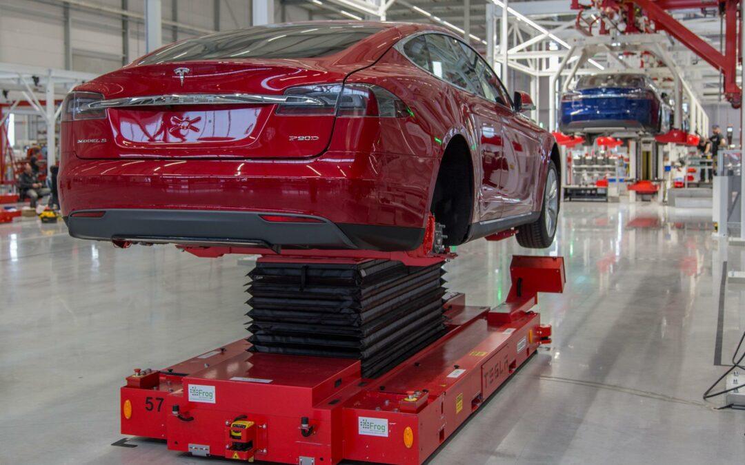 """Tesla-""""Werk"""" in Tilburg vor der Schließung"""
