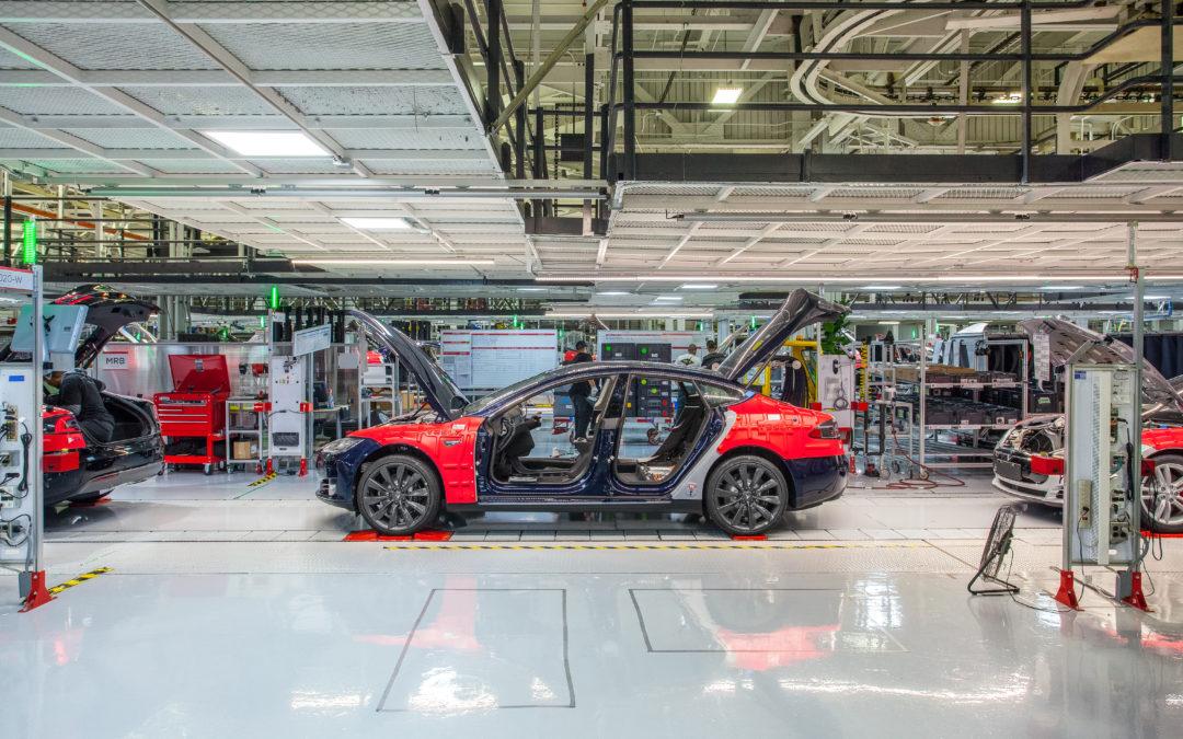 Tesla baut neue Autofabrik in Brandenburg