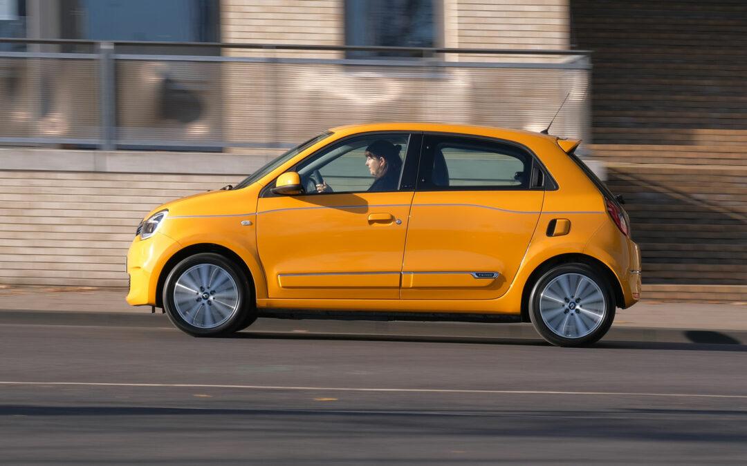 Renaults Twingo Electric flitzt dem Smart EQ davon