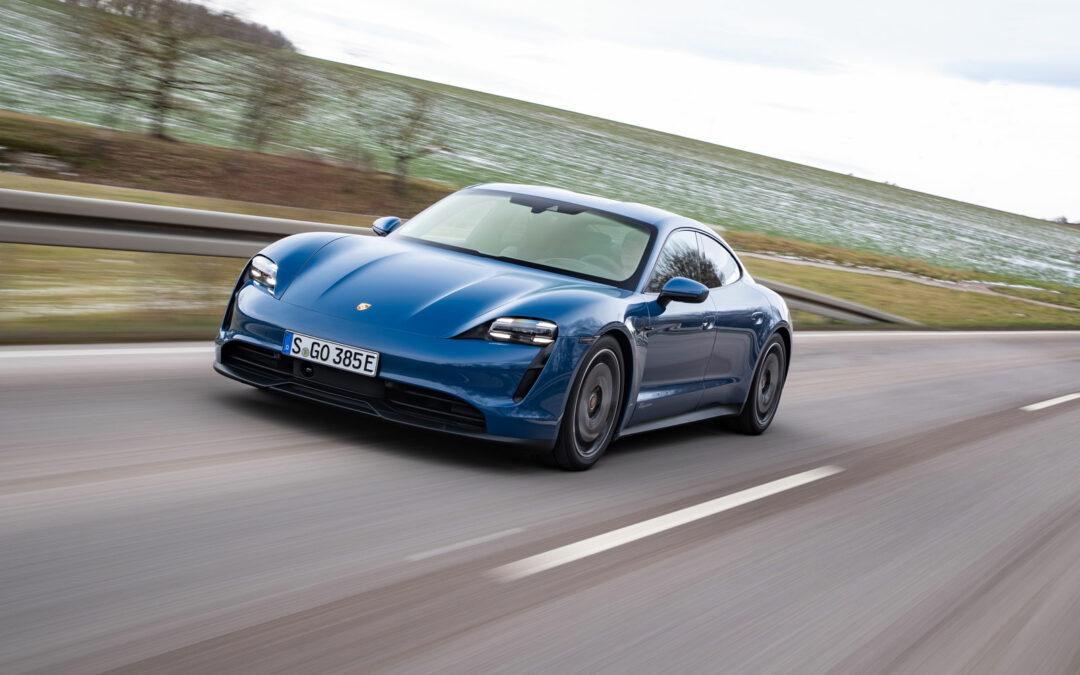 Porsche Taycan: Weniger Leistung, mehr Sport