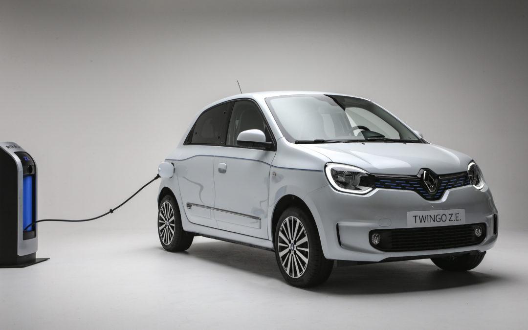 Renault Twingo wird zum Elektriker umgeschult