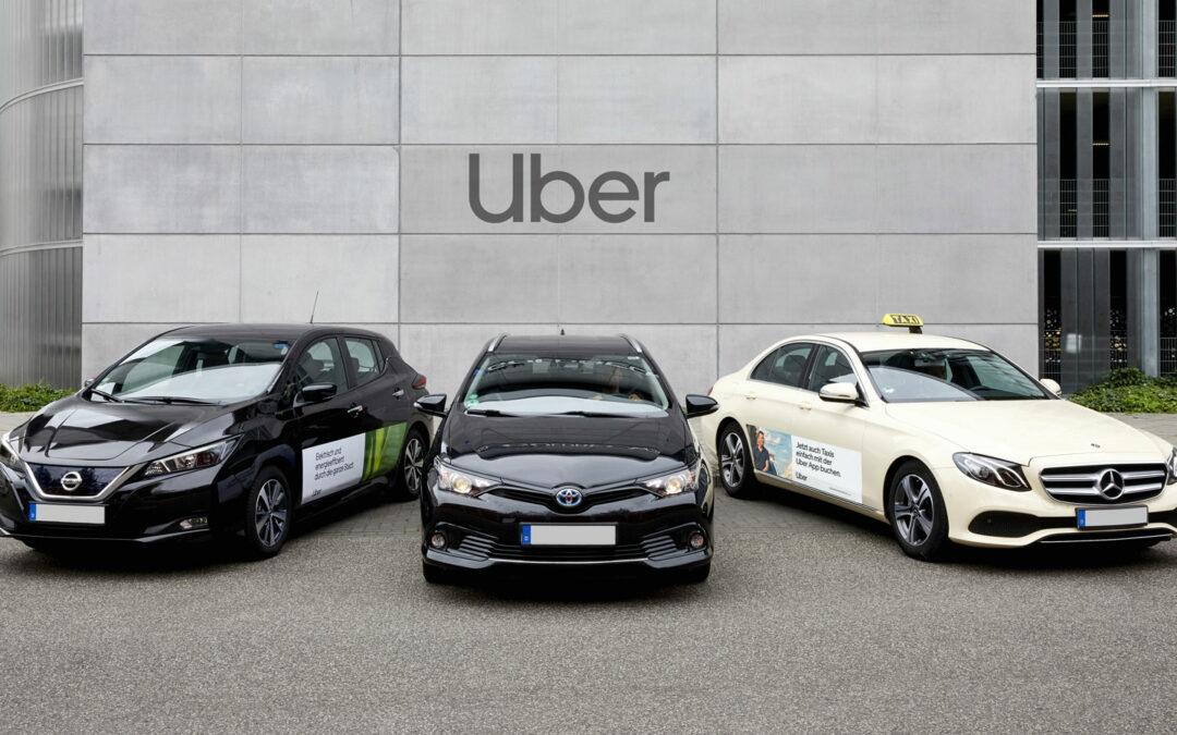 Uber nimmt neuen Anlauf in Deutschland