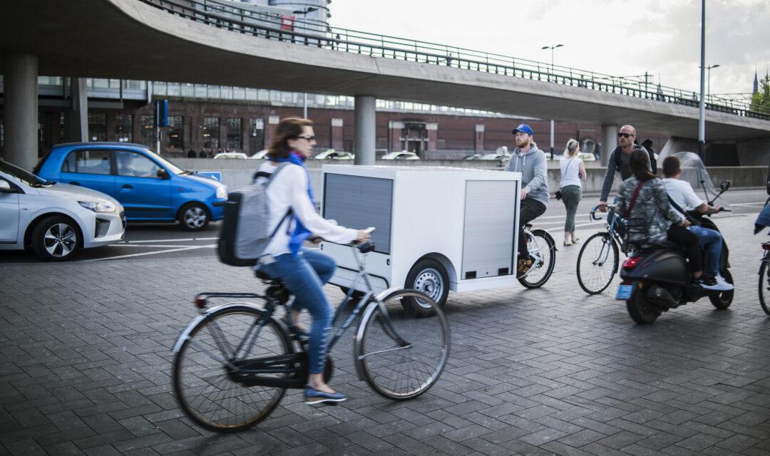 Lastenräder braucht die Stadt – und Platz dafür