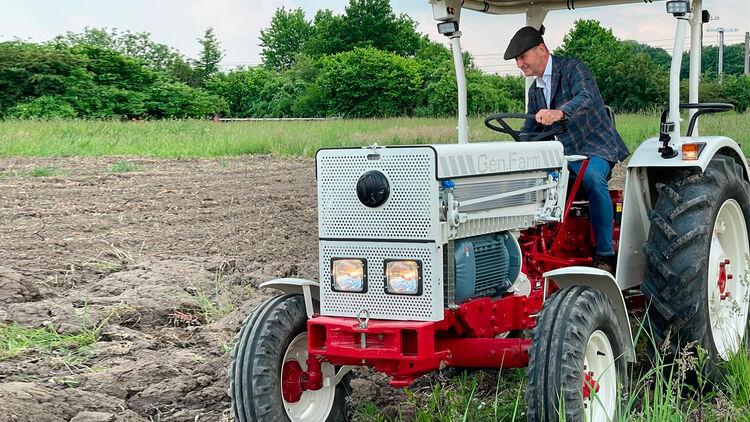 Ackern für Afrika: E-Traktor von VW nimmt Gestalt an