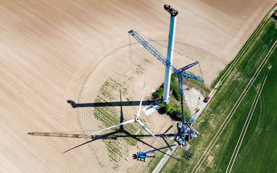 Windmühlen: Nicht für die Ewigkeit bestimmt