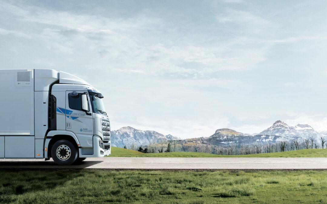 Hyundai lässt Wasserstoff-Laster auf Europa los