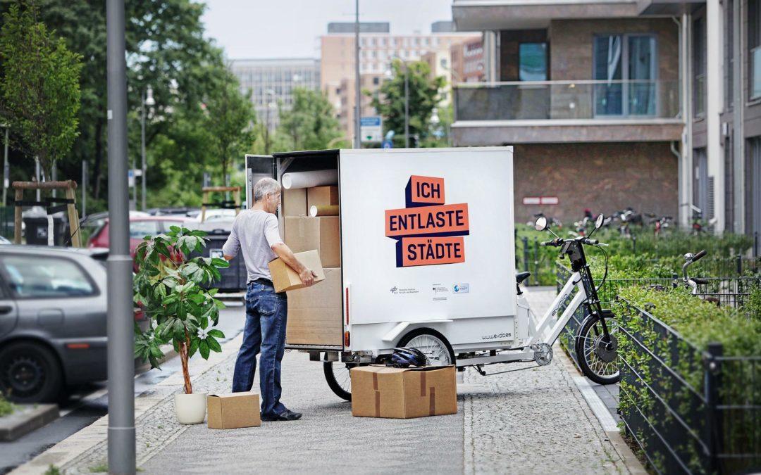 Prämie für Lastenräder läuft an