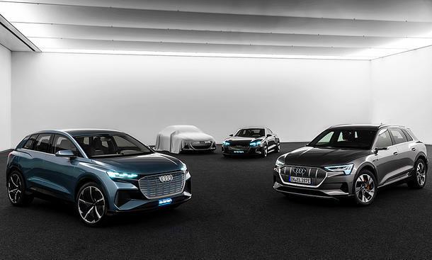 Audi hofft auf Heilung durch Elektromobilität
