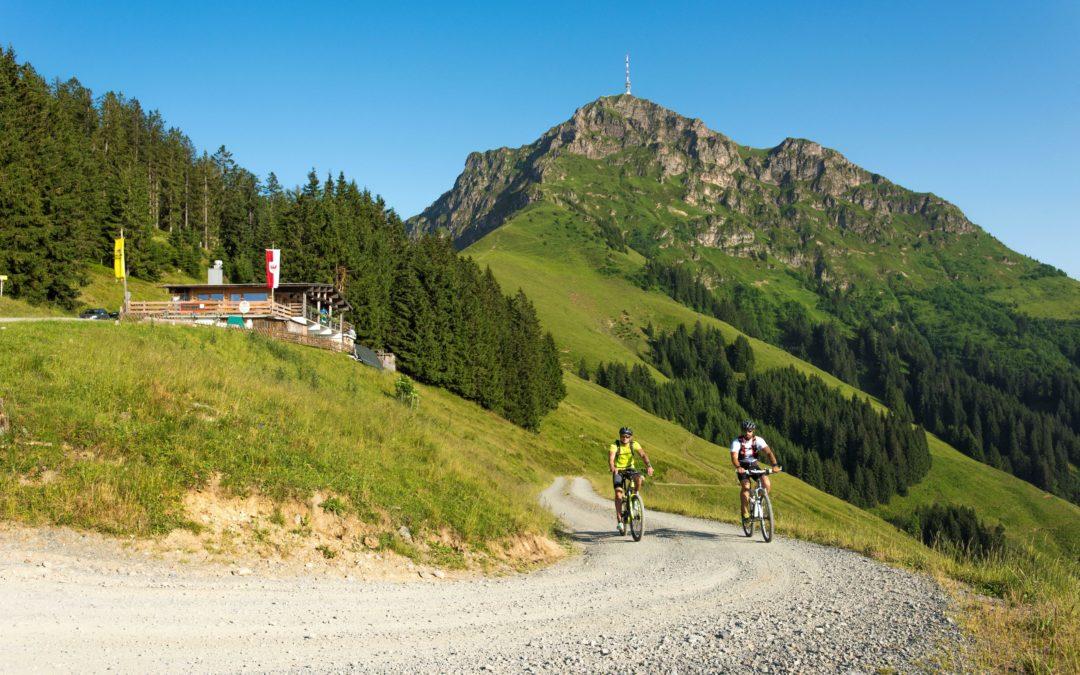 Auf dem E-Bike durch die Alpen