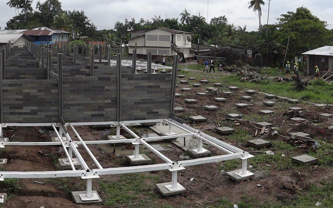 Recycling: Häuser aus Kunststoff-Steinen