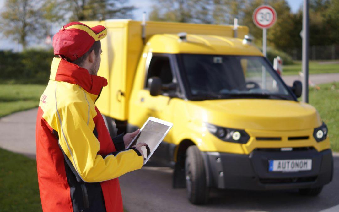 Wenn der Postmann einmal winkt – kommt sein Transporter