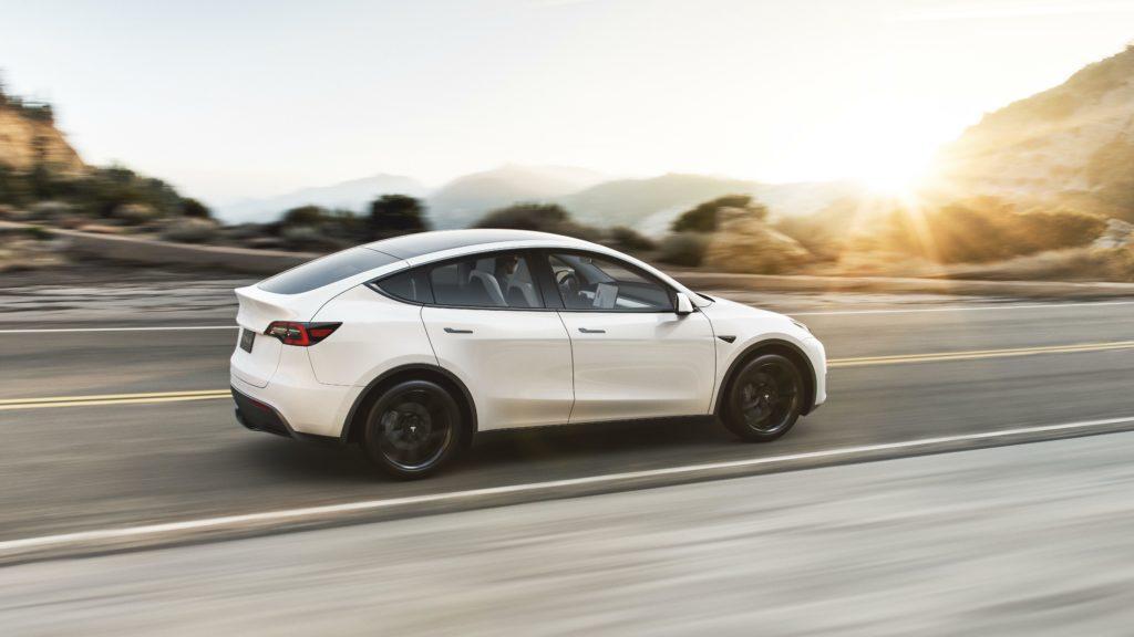 Bald auch in Deutschland? Berichten zufolge will Elektroauto-Pionier Tesla das SUV Model Y früher als erwartet ausliefern.