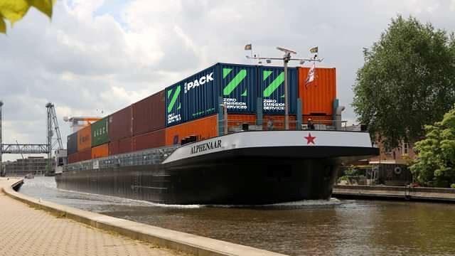 Klimafreundliche Binnenschiffe: elektrisch und mit Wechselakku