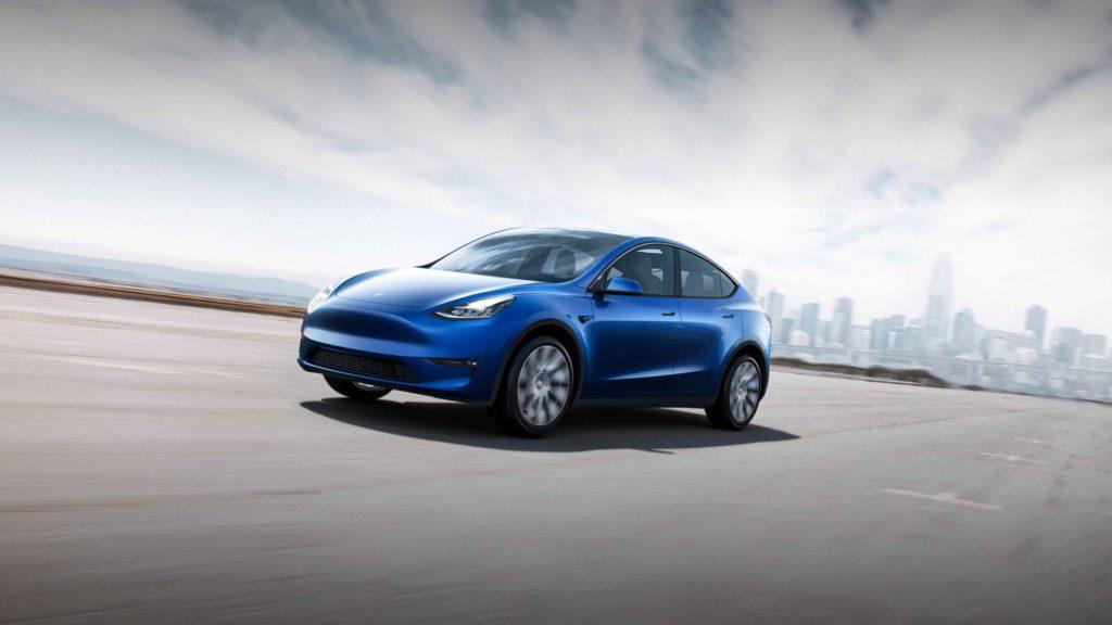 Das Model Y von Tesla