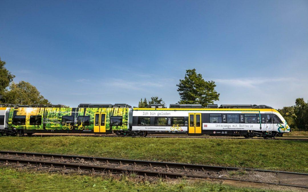 E-Züge drängen den Diesel von der Schiene