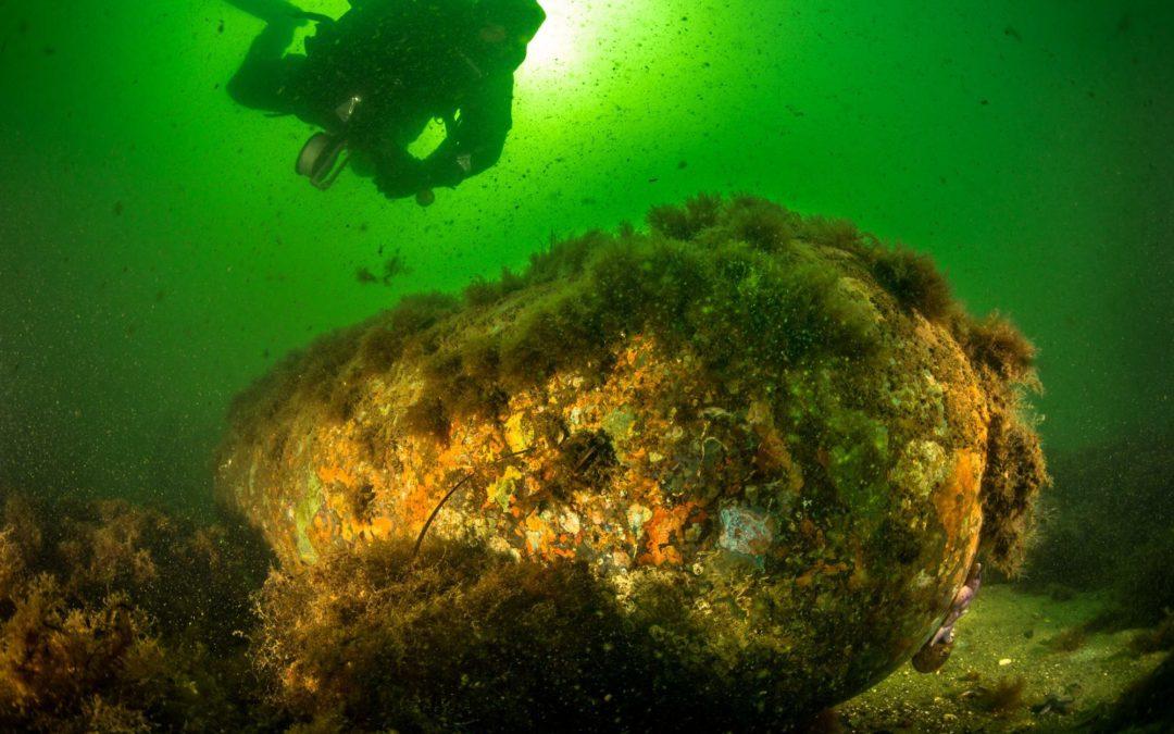 Sprengstoff-Reste: Tickende Zeitbomben im Ozean