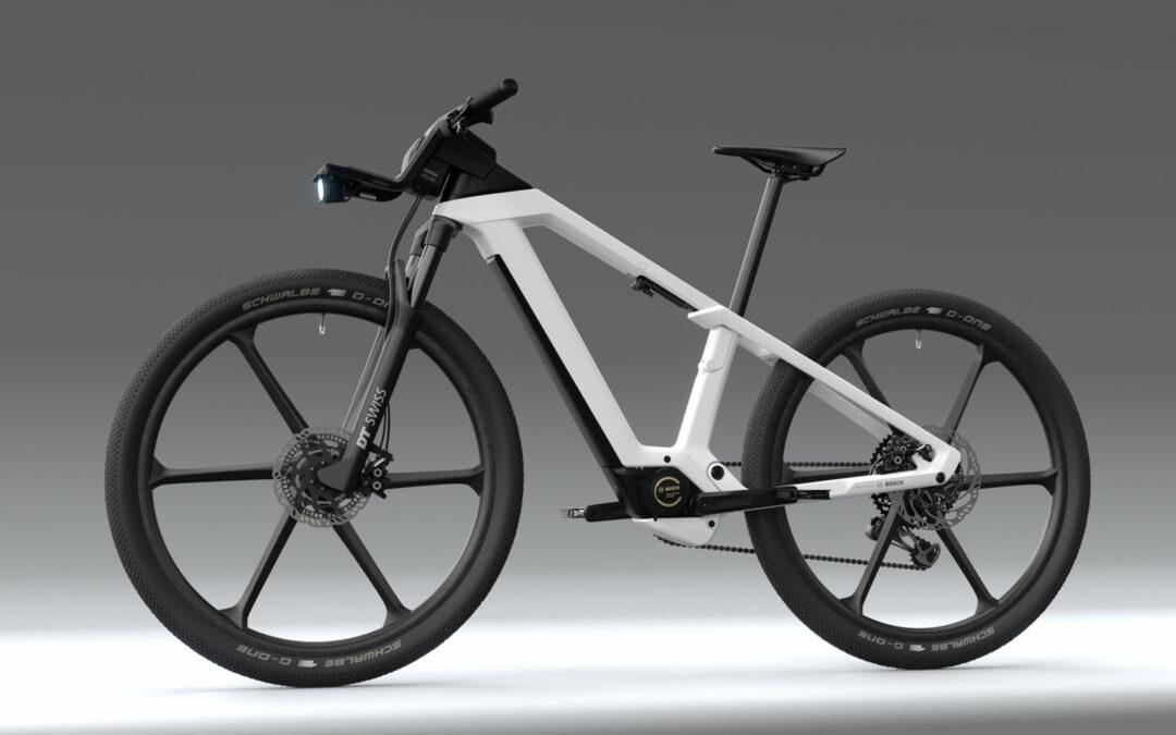Bosch präsentiert seine Idee vom E-Bike der Zukunft