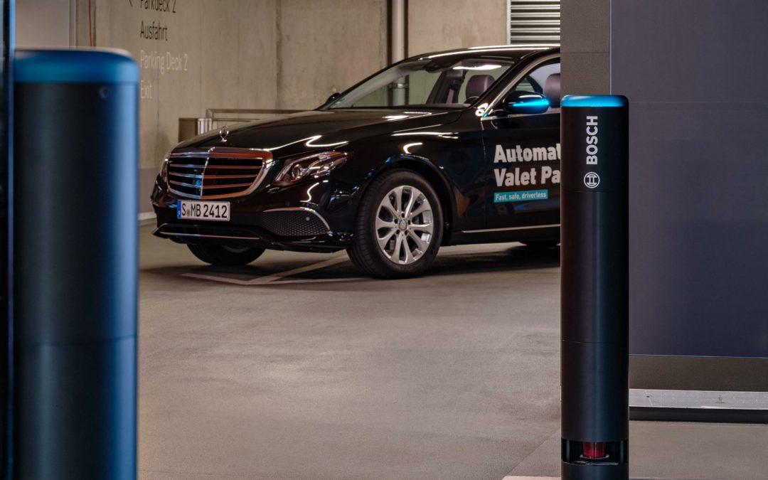 Bosch zeigt Wege zum stressfreien Parken