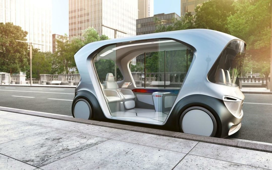 RobinTV E-News: Bosch baut eigenen Shuttle