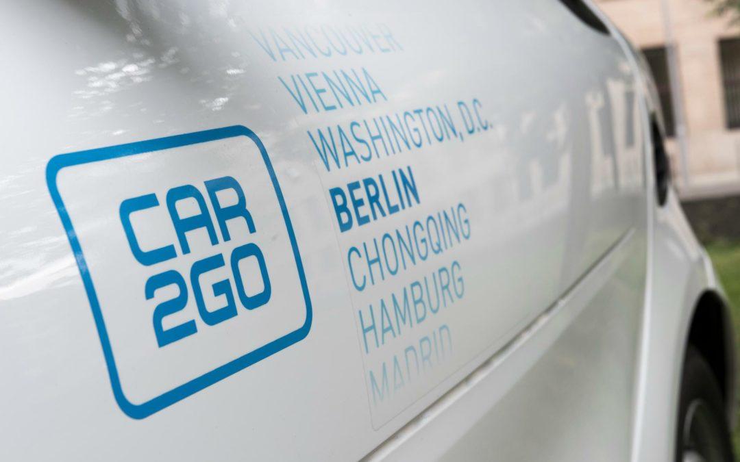 Carsharing in Deutschland: Über 10 Prozent Elektroautos