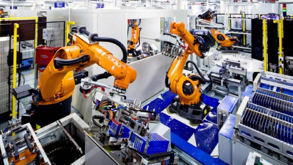 Batterieproduktion bei CATL