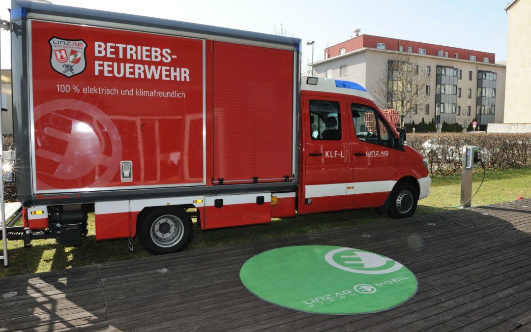 E-Feuerwehr: Mit Strom zum Löscheinsatz