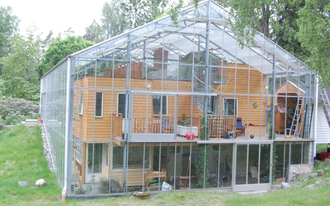 Öko-Paradies: Schweden bauen Wohnung im Gewächshaus