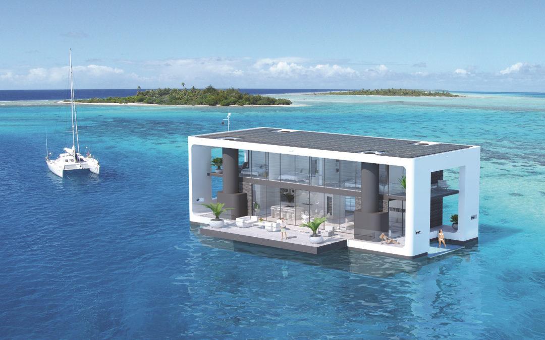 Mit Luxus-Hausbooten gegen den Klimawandel