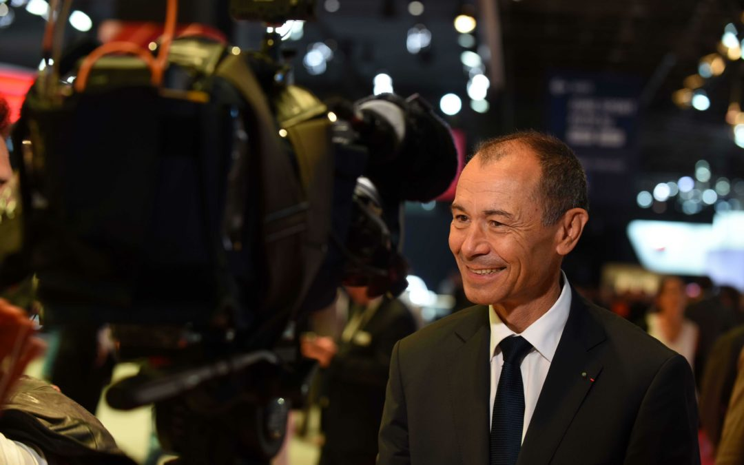 """Paris-Motor-Show-Chef Girot: """"Wasserstoff der beste Antrieb"""""""